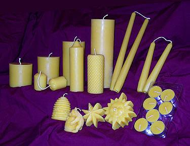 Beeswax Candles | Gentle Breeze Honey