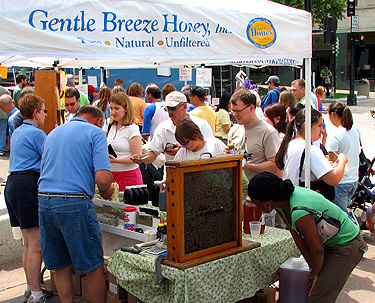 Farmers' Market | Gentle Breeze Honey