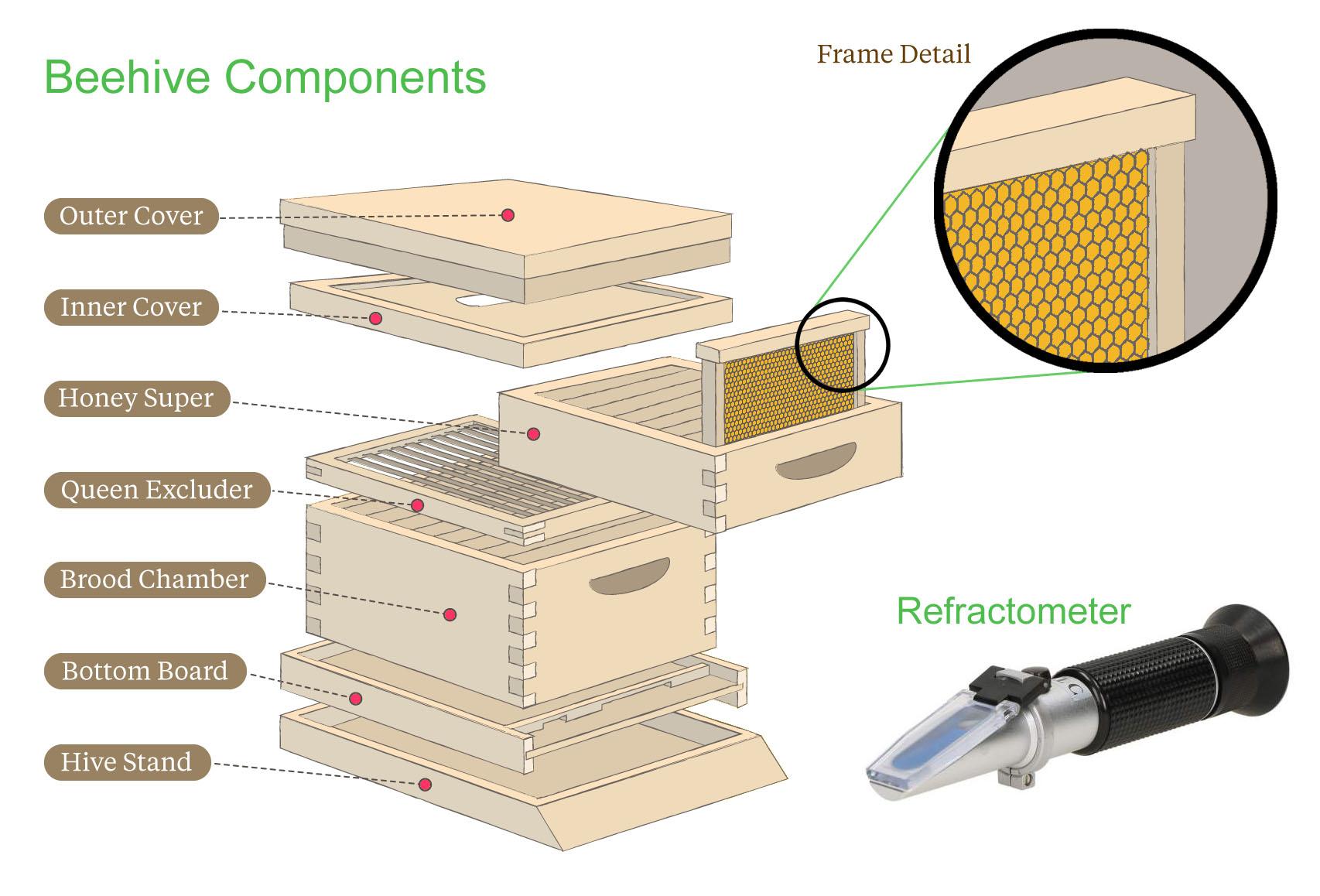 Beehives | Gentle Breeze Honey