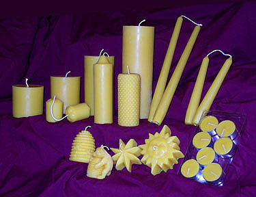 Beeswax Candles | Gentle Breeze Honey